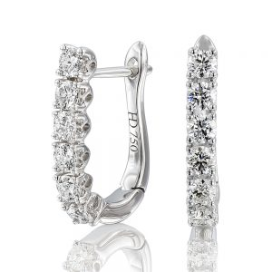 Holloway Diamond Line Drop Earrings 110977