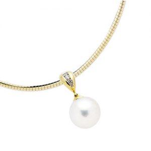 South Sea Pearl & Diamond Pendant