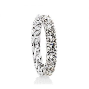 Sweep Continuous eternity style Ring