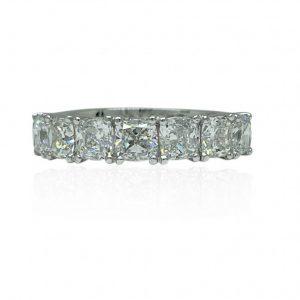 Platinum-claw-set-five-across-diamond-ring-180830