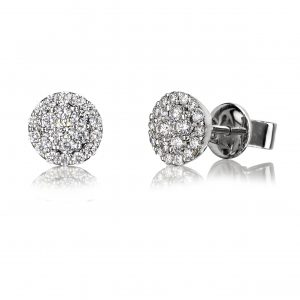 Gorgeous cluster stud earrings