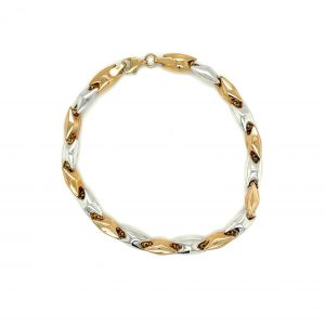 White & Yellow gold Bracelet