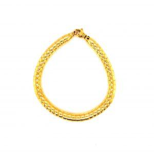 Shiny 18 Karat Gold Bracelet