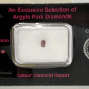 emerald cut pink argyle diamond collectors set